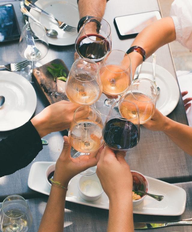 wijn calorieen per fles