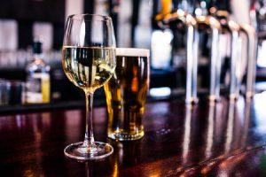 wijn of bier