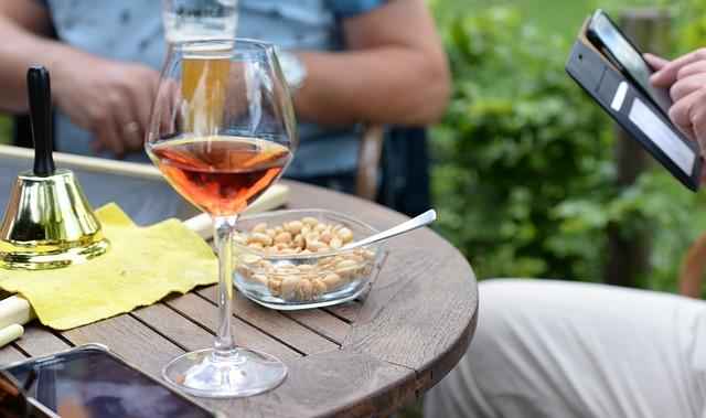wijn bij noten